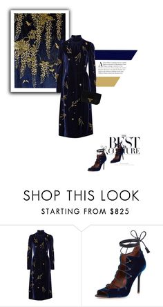 """""""Velvet dreams"""" by stellina-from-the-italian-glam ❤ liked on Polyvore featuring Prada and Malone Souliers"""