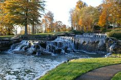 Hampton Cove Waterfall - Huntsville Alabama