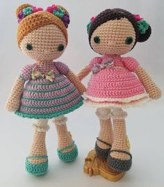 From my dolls collection Please meet Ana Blue and Ana Pink. Kids Toys, Teddy Bear, Meet, Singer, Dolls, Crochet, Pink, Blue, Animals