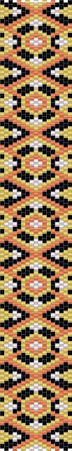 peyote pattern beadwork bracelet схемы бисероплетение мозаика браслеты