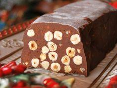 Ricetta Dessert : Torrone morbido al cioccolato e nocciole da Essenzadivaniglia