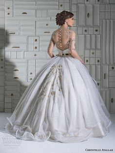 chrystelle atallah bridal spring 2014 ball gown