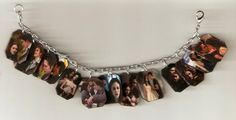 Twilight Loaded Edward Cullen and Bella Swan Charm Bracelet - ADORE this idea=)
