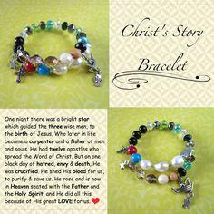 Sensational Creations: Christ's Story Bracelet