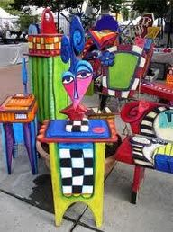 Funky Hand-Painted Furniture - Bing Images