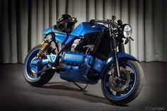 Bmw Cafe Racer 1994 bmw k 1100 rs Bmw Motorcycles, Vintage Motorcycles, Custom Motorcycles, Custom Bikes, Cafe Racer Style, Bmw Cafe Racer, Bobber, K100 Bmw, Gs500