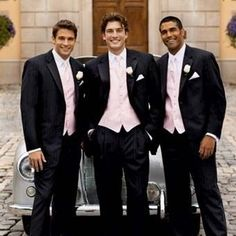 tuxedo for blush pink wedding - Google Search