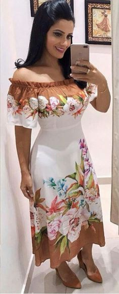 Girls Fashion Clothes, Women's Fashion Dresses, Sexy Dresses, Beautiful Dresses, Casual Dresses, Girl Fashion, Tropical Dress, Frocks For Girls, Chic Dress