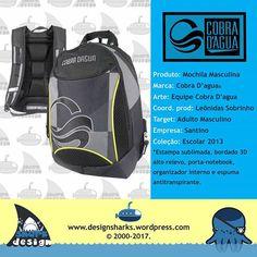 Uma mochila que combina bem em qualquer ocasião.  #cobradagua #backpack #mochilas #design #designgrafico #productdesign #projectdesign #graphicdesign #web #webdesign #logo #logotipos #marcas #leonidas #leonidasdesigner #sharks #tubarao #tubaroes #sparta
