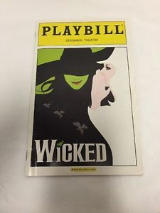 Wicked-Playbill-Megan-Hilty-Eden-Espinosa-Ben-Vereen-March-2006-Carol-Kane