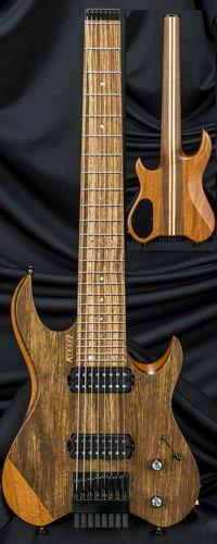 Carvin Guitars V8 Vader 8-String Headless Guitar Serial Number 133220