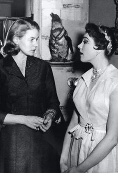 "ringing-stream: "" allaboutjulie: "" Ingrid Bergman came. She was tall, radiant and natural, and while she visited me she asked if she could use the 'john' in my dressing room. For days afterwards I didn't want to sit on the hallowed seat! - Julie..."