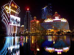 Wynn Casino, Macau.