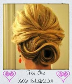 simple bridal updo