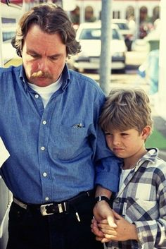 Keke and Nico Rosberg