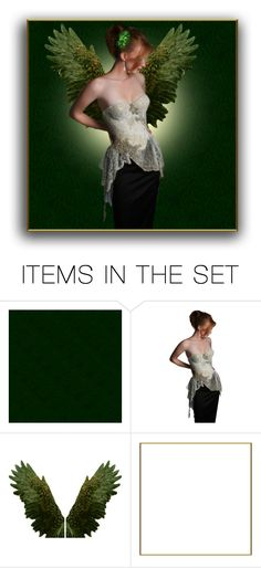 """""""Take These Angel Wings Contest"""" by theonly-queenregina ❤ liked on Polyvore featuring art"""