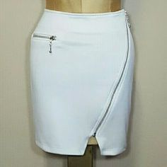 Shop my closet on Poshmark: NWT! White summertime zipper skirt!. Check it out! Price: $13 Size: S. Sign up with my code JXBZJ and get a $10 shopping credit!