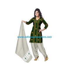 Stunning collection of cotton dress materials available online. Buy now: http://www.odishasareestore.com/handloom/oss270-exclusive-traditional-indian-handloom-fabrics-dress-material/p-5405372-66624856936-cat.html#variant_id=5405372-66624856936