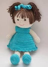 Resultado de imagen para boneca de croche