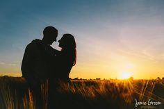 Golden hour for an engagement shoot over Norfolk #engagementphotography www.jamiegroom.co.uk