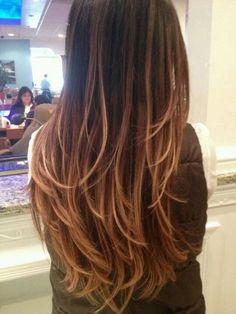 Makes me want ombré hair | followpics.co