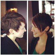 Casual Short Haircut for Thick Hair
