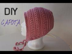 Capota de Bebé / VINTAGE / a Crochet paso a paso. TODAS LAS TALLAS - YouTube