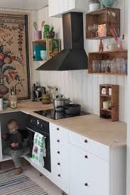 wooden boxes as shelves - Google Search