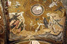 Istanbul. Sant Salvador de Cora. Sant Joan Baptista i Jesús (exonàrtex)