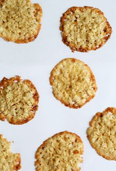 Gluten Free Oatmeal Lace Cookies - Gluten-Free on a Shoestring