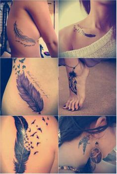 I Want A Feather Tattoo www.erasetattooremoval.com