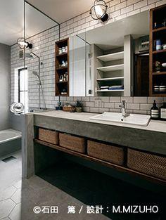 神奈川県 M邸   納品事例 美しいデザインの洗面台をはじめとした水まわり商品のセラトレーディング