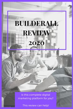 """Let me tell you, I have some great things to say about Builderall. This Builderall Review 2020 will tell you everything you need to, the pros and cons, and figure out whether or not if it's for you."" ~ SteveT #builderall Sales And Marketing, Email Marketing, Affiliate Marketing, Digital Marketing, Marketing Automation, News Blog, Online Business, Told You So, Social Media"