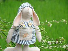 Patrones conejo  乡村小兔子