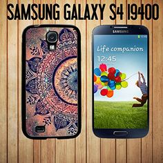 Mandala Datura Hippie Custom made Case/Cover/skin FOR Samsung Galaxy S4-Black - Rubber Case >>> Click image for more details.