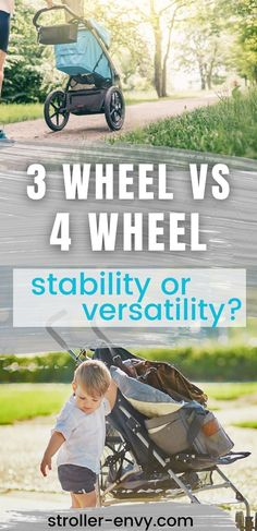 It's very easy to become confused with all the different brands and styles of strollers that are available in the shops and online. And one of the most perplexing variations to understand is the difference between three-wheel and four-wheel models. So, we've put together this helpful comparison. So, you can figure out whether three or four wheels will fit your lifestyle best. #momlife
