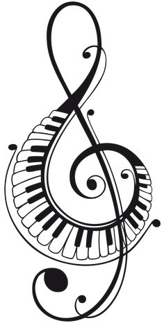 Music Drawings, Music Artwork, Pencil Art Drawings, Art Music, Music Tattoo Designs, Music Tattoos, Touches De Piano, Musik Illustration, Piano Art