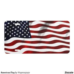 American Flag - Car Floor Mats License Plates, Air Fresheners, and other Automobile Accessories