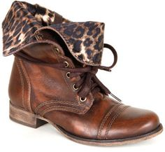 im seriously in love...chetah and combat boots? match made in heaven <3