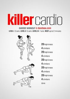 Killer Cardio Workout | Posted By: NewHowtoLoseBellyFat.com