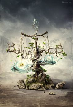 Libra. I lile this, minus the balance part.