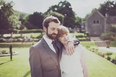 Lovely wedding portrait