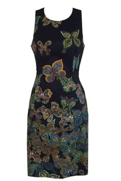 The BUTTERFLY BODYCON DRESS from Single Dress is made of jacquard fabric and is fully lined.  Flattering and pretty. ________________________ https://www.zindigo.com/sharer.php/0/0/3729/15372
