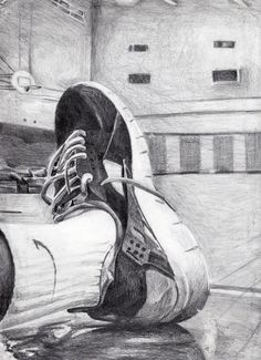 Artwork by Jamesley St. Juste - Pencil  - First Place Winner - 11th Grade Level - Dade County Youth Fair 2014 Art Exhibit  - March 13, 2014 - March 30, 2014