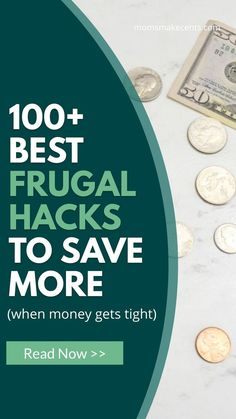 Looking for frugal living tips to help you save more money? This list of over 100 frugal living tips will give you tons of ideas to start saving money today. Ways To Save Money, Money Tips, Money Saving Tips, Money Hacks, Money Savers, Frugal Living Tips, Frugal Tips, Christmas Savings Plan, Savings Chart