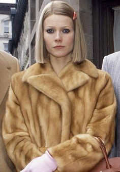 """THE ROYAL TENENBAUMS  Margot's offbeat wardrobe of Lacoste tennis dresses, fur coats, vintage bags and barrattes showed Gwyneth Paltrow in a whole new light.    FACT: Director Wes Anderson wanted to make the Tenenbaums appear """"trapped in the era of their heyday"""", so made sure all clothes were from the 1970s and characters stayed in the same or similar outfits throughout the movie."""
