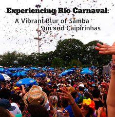 Brazil l Experiencing Rio de Janeiro Carnaval: A Vibrant Blur of Samba, Sun and Caipirinhas l @tbproject
