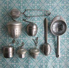 Bohemian Homes: Vintage tea infusers