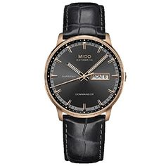 Mido Commander Rose gold leather band M016.430.36.061.02 -- Check this awesome product by going to the link at the image.