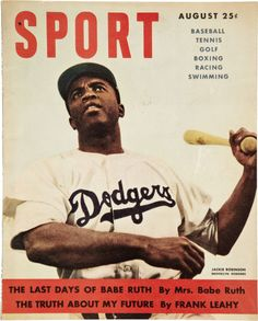 Jackie Robinson becomes the first African American player in Major League Baseball, April 1947